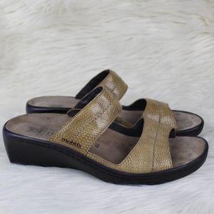 Mephisto Mobils Air Relax Platform Wedge Sandals